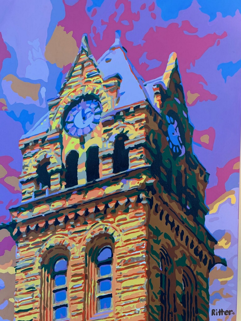 Artistic rendering of Court house